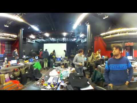 Global Game Jam Zurich 2017 in 360Grad