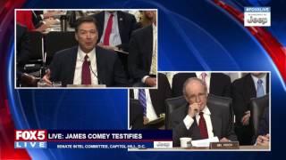 COMEY TESTIFIES: Sen. Jim Ritsch questions Former FBI Director James Comey