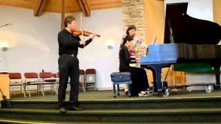 Crystal J. Huang - Chardash (Piano and Violin)