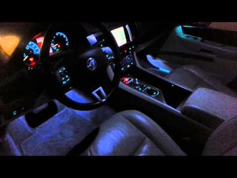Jaguar XF Premium Luxury at night