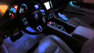 Jaguar XF Premium Luxury at night