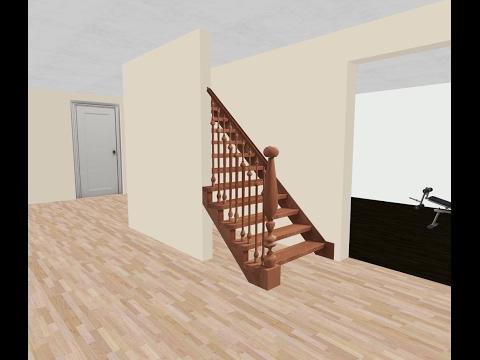 Finishing My Basement Opening Up Staircase Youtube