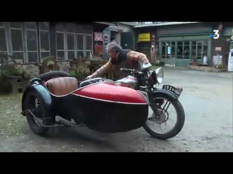 Mayenne : les motos anciennes de Jean-Luc Gaignard