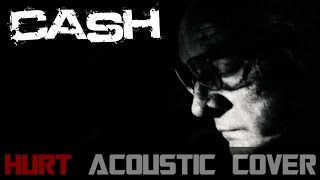Johnny Cash - Hurt Acoustic Cover [Instrumental] (Logan Trailer Song)