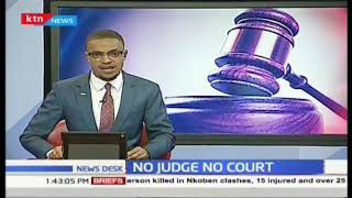 No judge no court : Embu court notice irks justice seekers