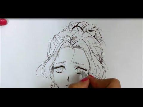 رسم أنمي بسيط Simple Anime Drawing Youtube