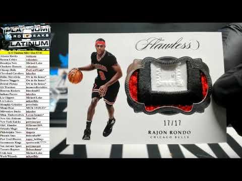 2016-17 Panini Flawless Basketball 1 Box Random Teams #3