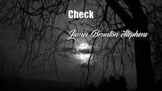 Check (James Brunton Stephens Poem)