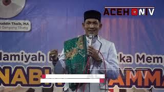 Ceramah Tgk Asnawi Jangka DiTibang