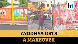 Ram temple | Drones, barriers, paintings: Ayodhya prepares for PM Modi visit