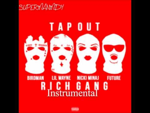 Birdman - Tapout ft  Lil Wayne, Future, Mack Maine and Nicki Minaj (Instrumental)