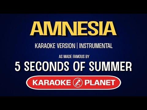 Amnesia - 5 Seconds Of Summer | Karaoke LYRICS