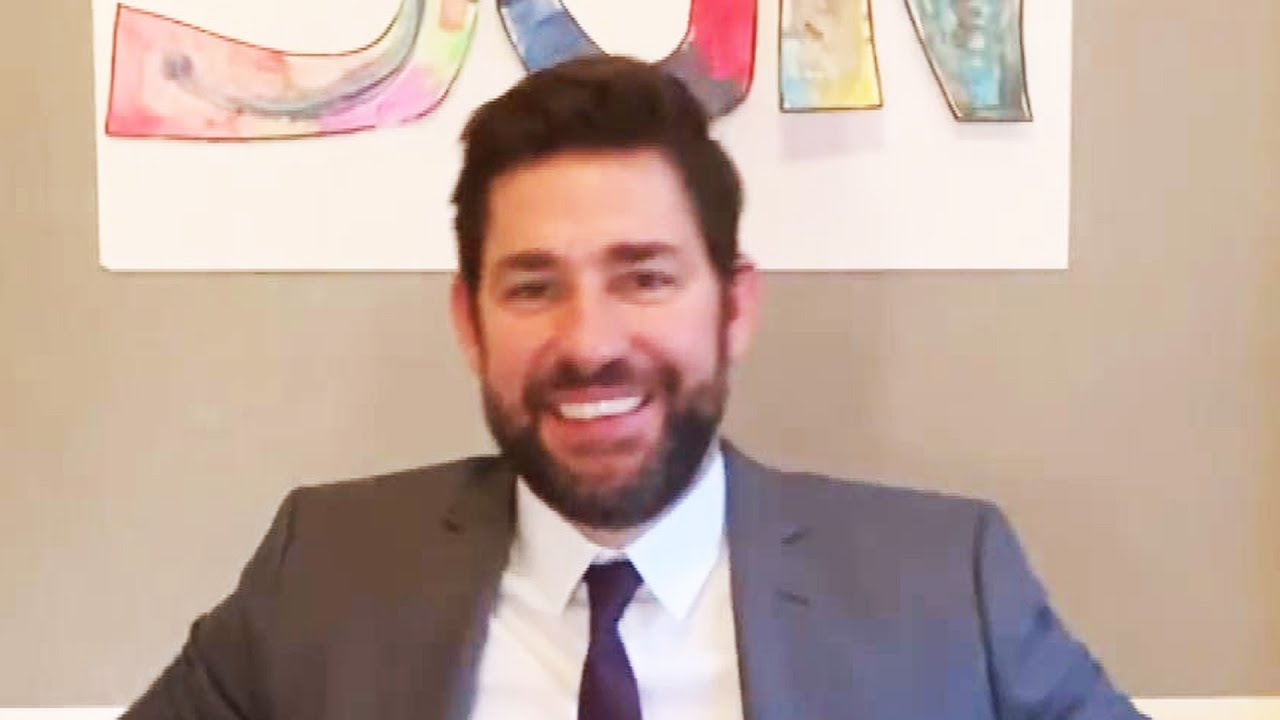 Find Out How John Krasinski Is Spreading 'Some Good News' While in Quarantine