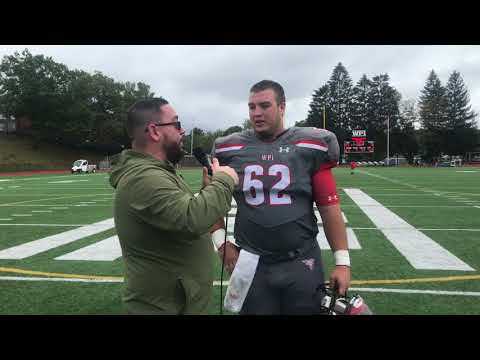 WPI Football Post-Game Interview - Brendan Harty