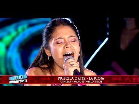 Priscila Ortiz le puso la piel de gallina a todos con su voz