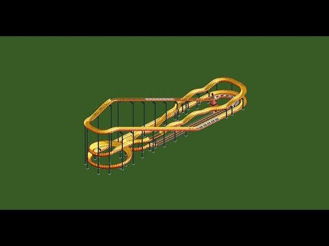 RCT2 - Ride overview - Bobsleigh coaster - YouTube