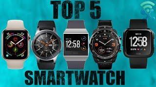 Top 5 Best Smartwatch 2019 ⭐⌚ Which Is The Best Smartwatch ?