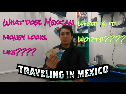What Does Mexican Money Look Like????