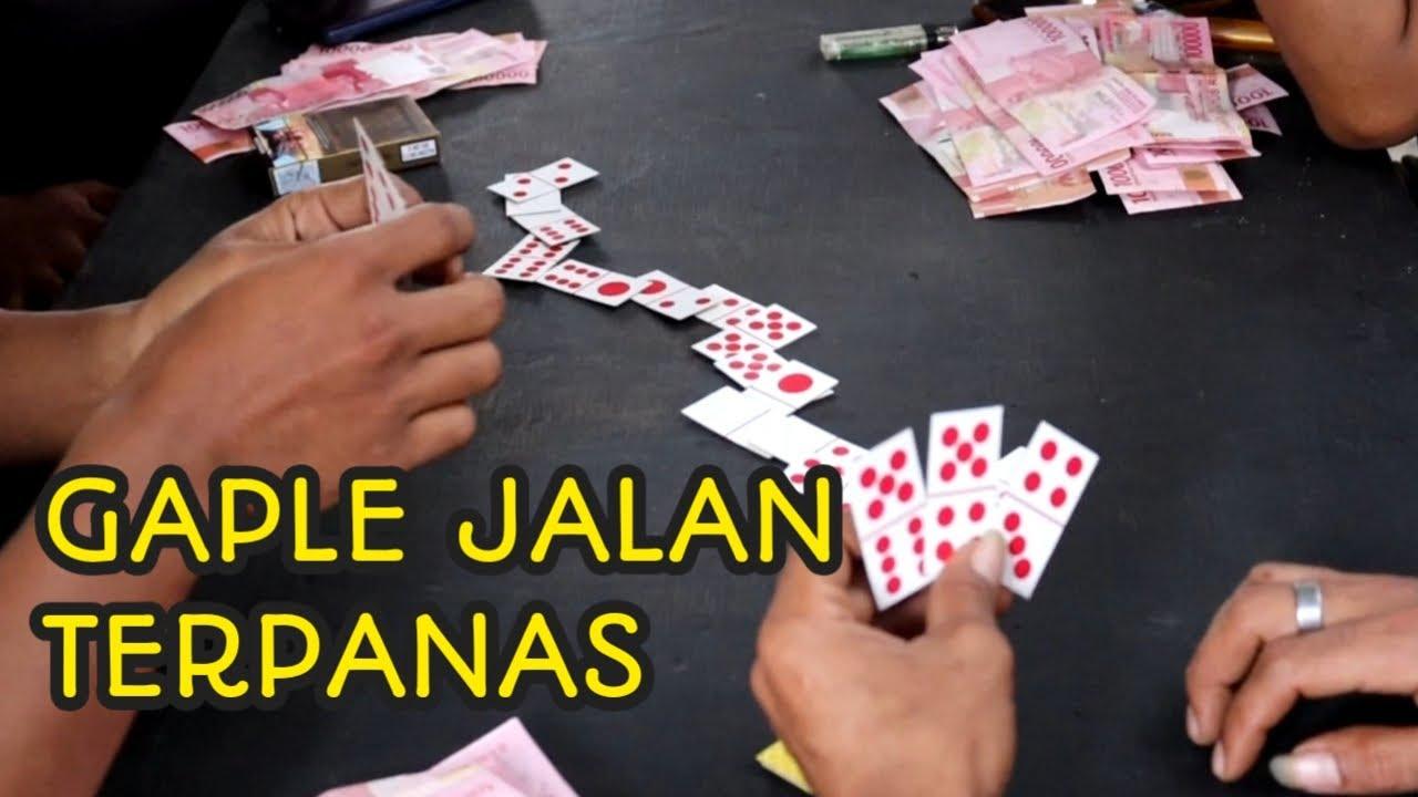 GAPLE DOMINO TERPANAS DI INDONESIA - YouTube