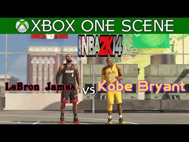 Lebron James Vs Kobe Bryant Nba 2k14 Blacktop Xbox One Youtubedownload Pro