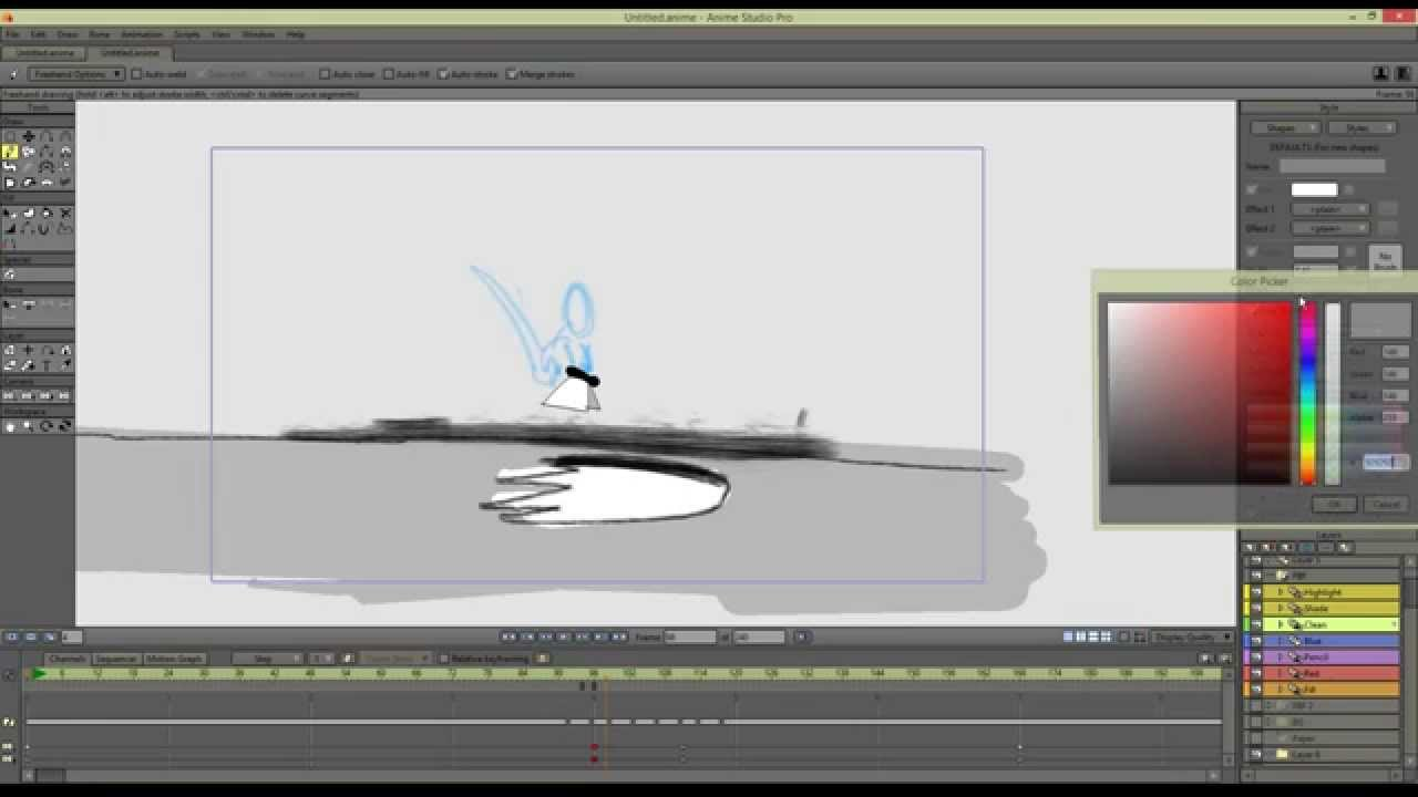 Anime Studio (Moho) Webinar: An Overview of Frame-by-Frame Animation ...