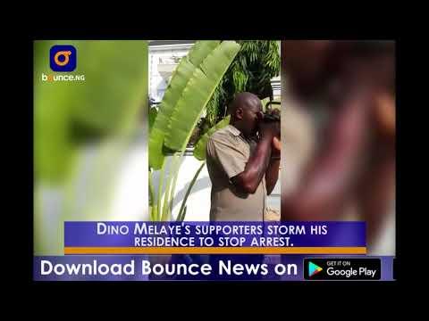 Police Lay Siege To Senator Dino Melaye's House