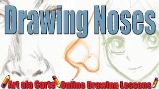 All about drawing the Nose