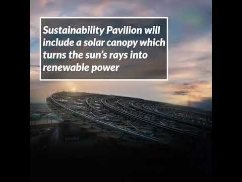 Expo2020 Dubai to present a solar canopy for producing renewable power ✨
