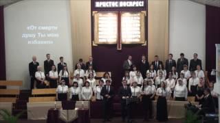 Богослужение в Мытищинской Церкви Евангельских Христиан Баптистов от 16.04.2017