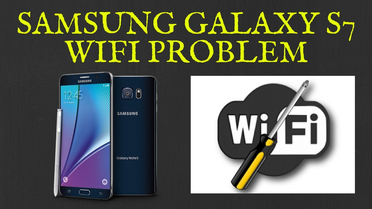 Samsung Galaxy S7 WiFi Problem | Not Connecting | Keeps Disconnecting