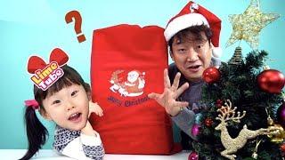산타의 크리스마스 선물? 서프라이즈 레고프렌즈 장난감 놀이 LimeTube & Toy 라임튜브