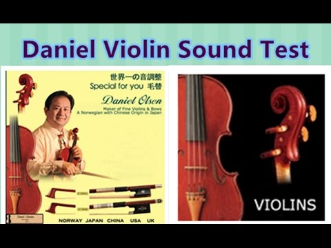 Daniel Violin Sound Test
