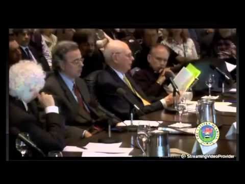 Congress Exposed of the Truth by ExMinister of Defence of Canada - Citizen Hearing 2013