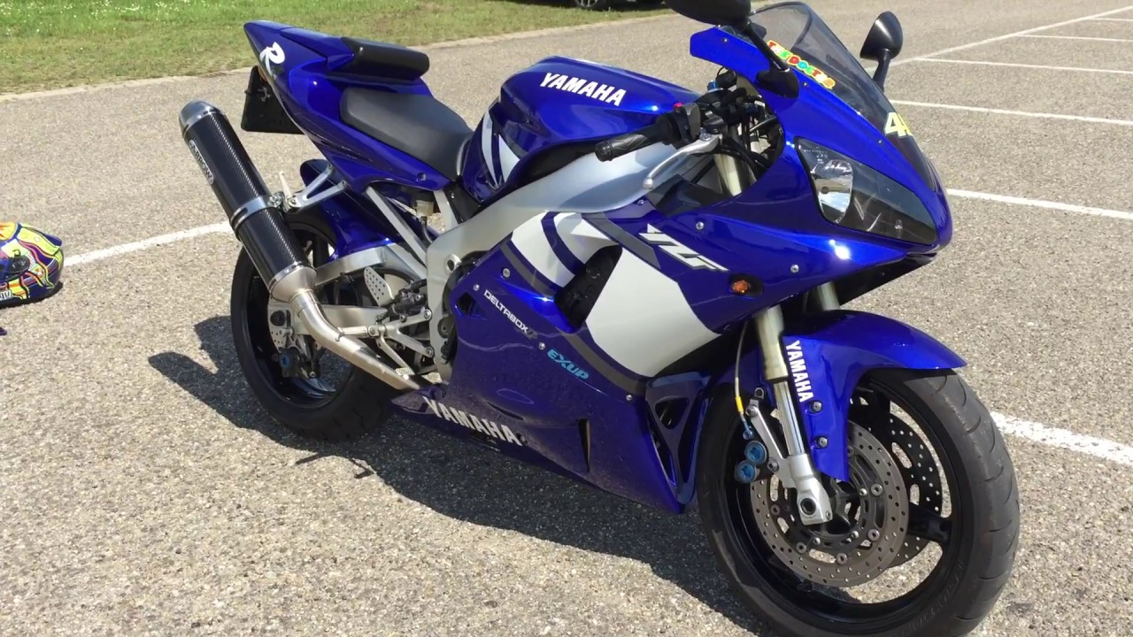 Yamaha Yzf R1 2001 New Condition Walk Around And Sound With New Full Arrow Exhaust System
