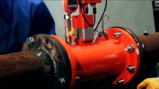 Монтаж расходомера газа Turbo Flow GFG (Турбулентность Дон)