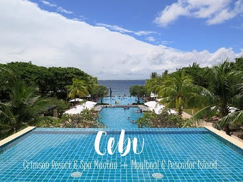 Cebu Crimson Resort Mactan Moalboal Pescador Island Travel Video Youtube