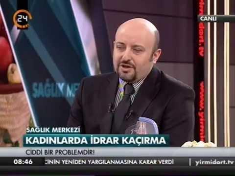 Prof. Dr. Selçuk Yücel, Kadınlarda İdrar Kaçırma - Sağlık Merkezi (Kanal 24) 02.01.2015
