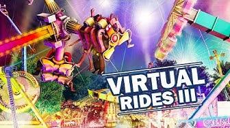 VIRTUAL RIDES 3: PREVIEW zum Kirmes-Simulator! Mit viel Spaß am Fahrgeschäft - Gameplay deutsch