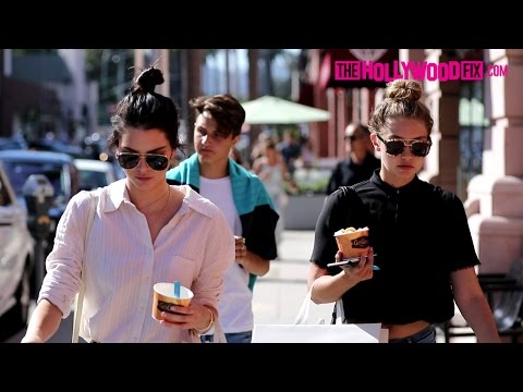 Kendall Jenner & Gigi Hadid Go Lingerie Shopping In Beverly Hills 7.31.15 - TheHollywoodFix.com thumbnail