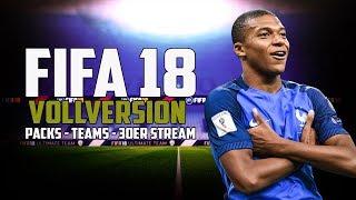 Fifa 18 fut   vollversion - unsere ersten spieler, teams & mehr! heute 30-stunden stream!