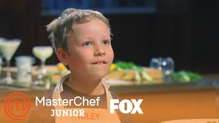Riley Is The Youngest Competitor | Season 3 Ep. 3 | MASTERCHEF JUNIOR