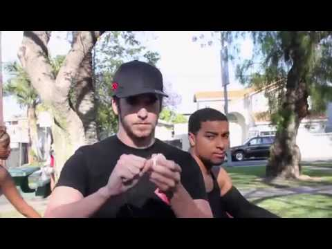 White Guy Does Magic In The Hood