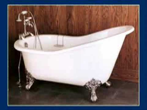 How to Purchase a Clawfoot Tub - YouTube