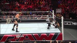 The Miz vs. Jack Swagger: Raw, Feb. 25, 2013