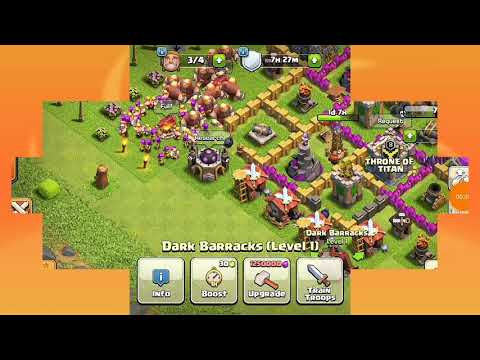 Attacking Arrow Head in Clash of Clans