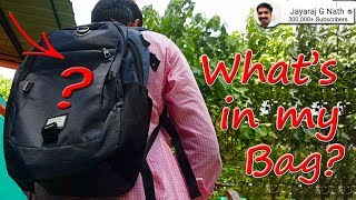 Whats in My Bag?