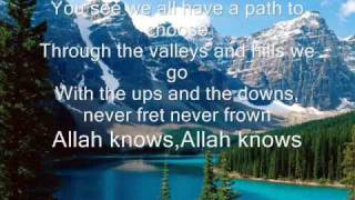 Zain Bhikha-Allah knows