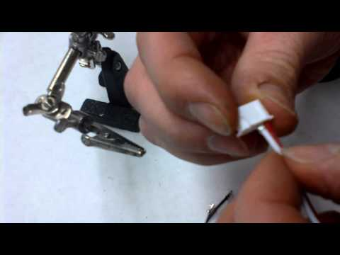 The making of 3s lipo extension cable