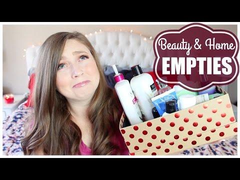 Fall Empties! Home & Beauty | 2016