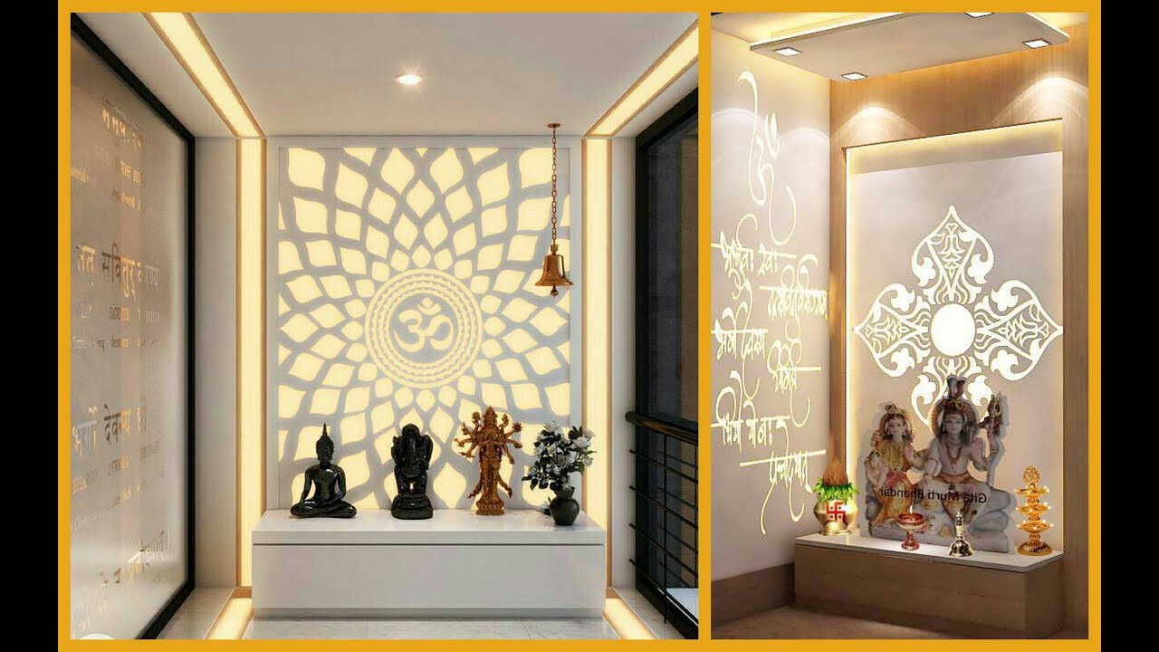 Top 38 Indian Puja Room and Mandir Design Ideas Part1 Plan n Design  YouTube